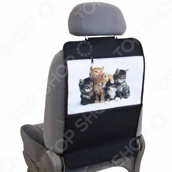 Накидка-органайзер для спинки сиденья детская SKYWAY «Котята»