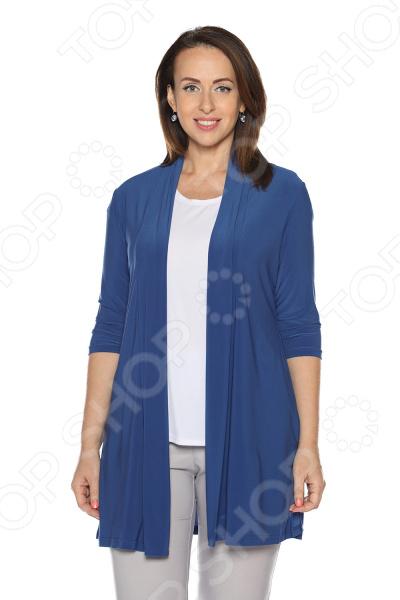 Кардиган VEAS «Мелисса». Цвет: синий кардиган cellbes цвет синий черный
