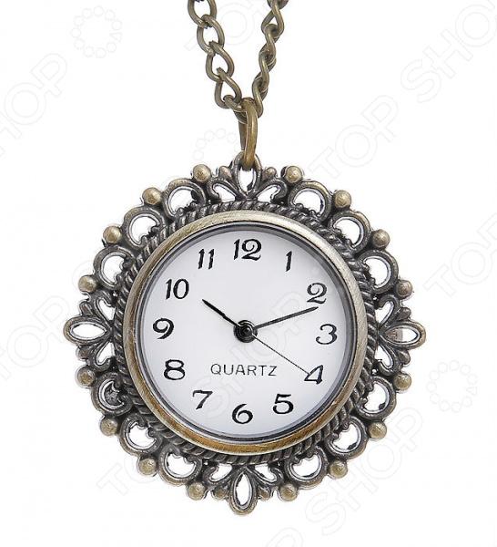 Кулон-часы Mitya Veselkov «Классика в бронзе»