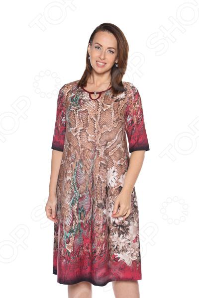 Платье Лауме-Лайн «Каравелла». Цвет: бордовый платье лауме лайн царица цвет бордовый