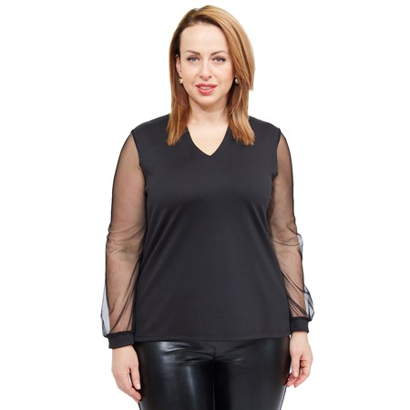Купить Блуза Матекс «Кристианна». Цвет: черный