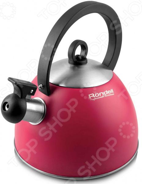 Чайник со свистком Rondell Geste RDS-361 чайник geste 2 л со свистком гранатовый rds 361 rondell
