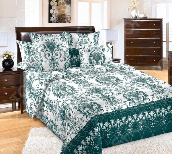 цена Комплект постельного белья Белиссимо «Классик» онлайн в 2017 году