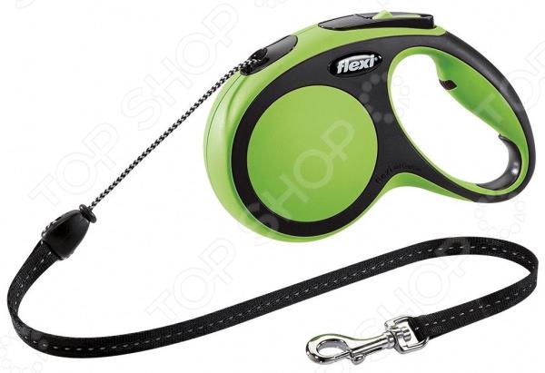 Поводок-рулетка Flexi New Comfort М. Тип поводка: трос