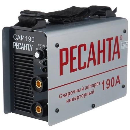 Купить Сварочный аппарат инверторный Ресанта САИ 190