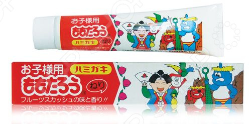 Зубная паста Fudo Kagaku «Момотаро»