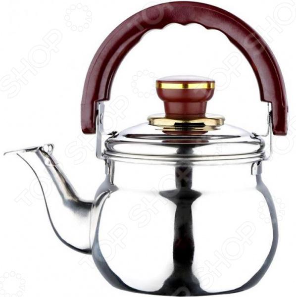 Чайник со свистком Wellberg WB-1789 Whistling чайник wellberg wb 3431 f