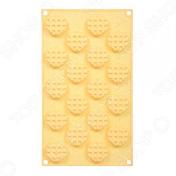 Форма для выпечки силиконовая Marmiton «Круглое печенье» 17120. В ассортименте кисточка из силикона с дозатором marmiton 12113
