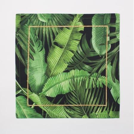 Купить Набор салфеток с кольцами Этель Gold Tropics