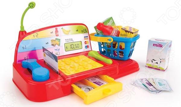 Игровой набор для ребенка Dolu «Кассовый аппарат с аксессуарами»