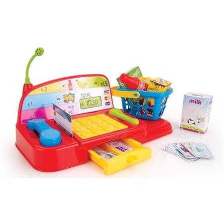 Купить Игровой набор для ребенка Dolu «Кассовый аппарат с аксессуарами»