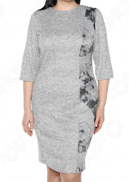Платье ТРЕНД «Камелия». Цвет: серый платье тренд стильный силуэт цвет бордовый