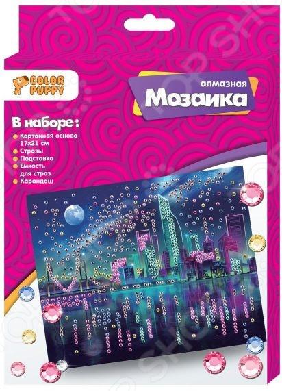 Набор для создания мозаики Color Puppy «Ночной город»