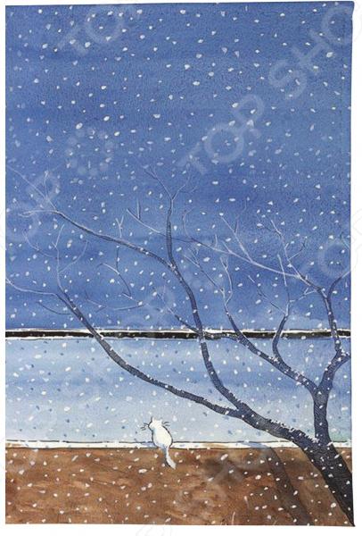 Визитница Mitya Veselkov «Котик под деревом»