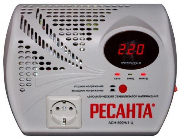 Стабилизатор напряжения Ресанта АСН 500 Н/1-Ц