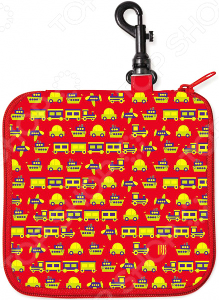 Термобутербродница IRIS Barcelona СнэкРико «Машинки» 16х16 см