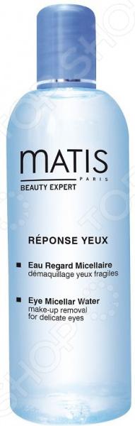 Мицеллярная вода для кожи вокруг глаз Matis «Очищающая с экстрактом чая матча»