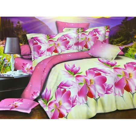 Купить Комплект постельного белья Pandora «Тропическое лето». 1,5-спальный
