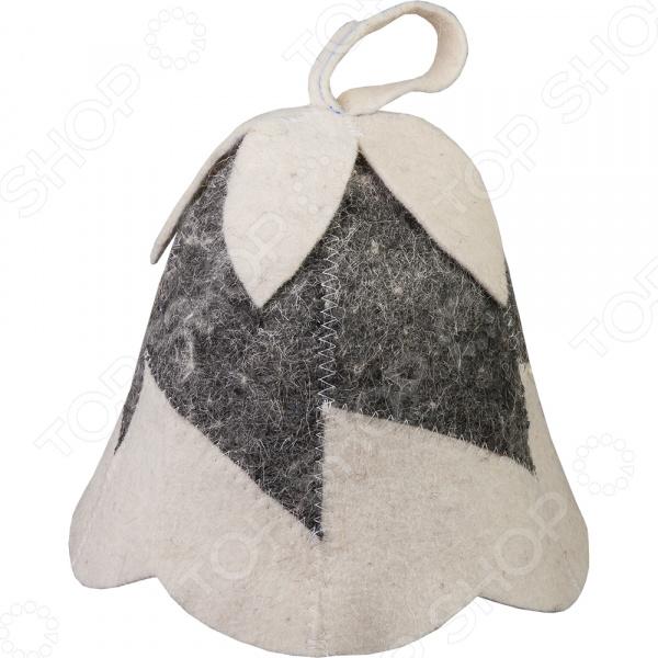 Шапка для бани и сауны Hot Pot «Колокольчик» 41187 шапка для бани и сауны proffi буденовка цвет молочный