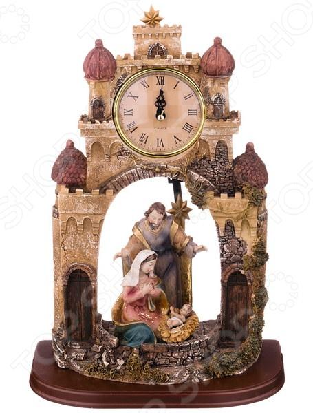 Часы настольные Lefard «Рождественский Вертеп» 390-1176