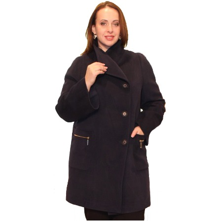 Купить Пальто Klimini Нефертити. Цвет: темно-синий
