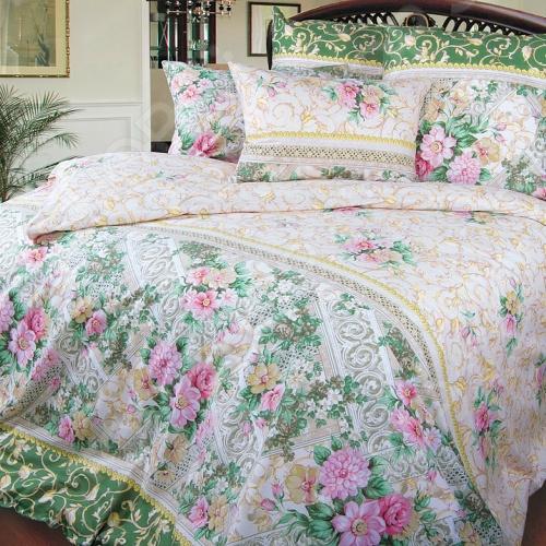 цена Комплект постельного белья ТексДизайн «Римский дворик» онлайн в 2017 году