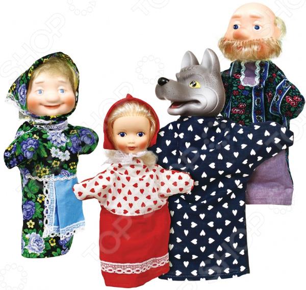 Кукольный театр Огонек «Красная Шапочка» aha набор создай свой театр красная шапочка