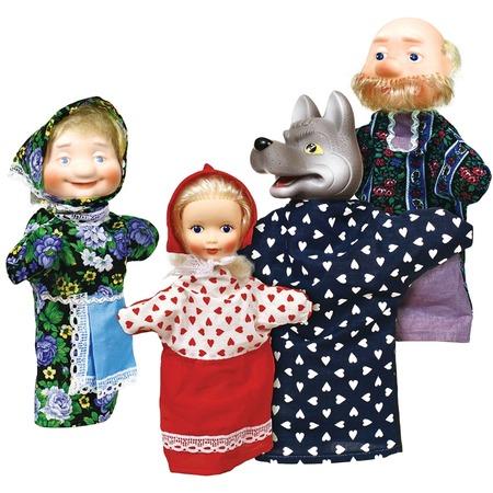 Купить Кукольный театр Огонек «Красная Шапочка»