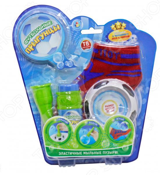 Мыльные пузыри с аксессуарами 1 Toy «Футбольные Прыгунцы» Мыльные пузыри с аксессуарами 1 Toy «Футбольные Прыгунцы» /30-39