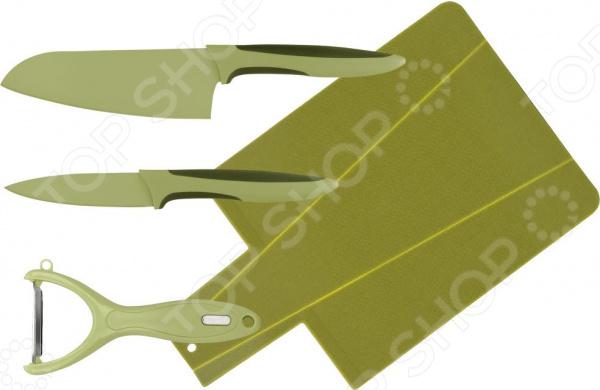 Набор ножей с разделочной доской Calve CL-3119 набор ножей calve набор ножей