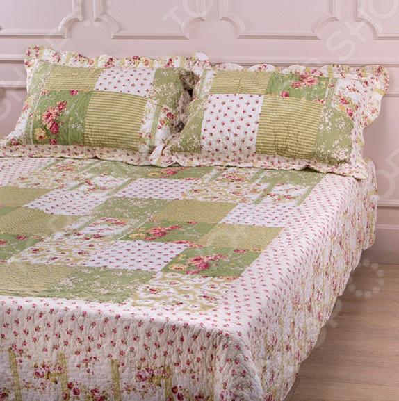 Комплект для спальни: покрывало и наволочки Santalino 806-011 для спальни