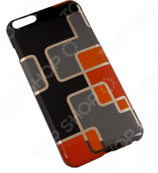 Чехол для iPhone 6/6S Plus Macuus «Оранжевые квадратики» цена