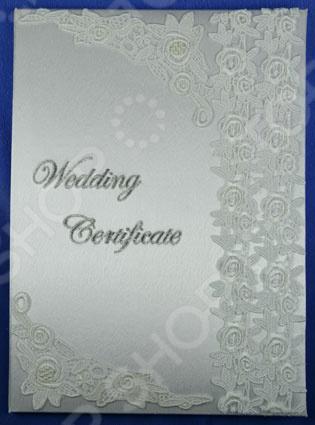 Папка для свидетельства о регистрации брака ручной работы 139358