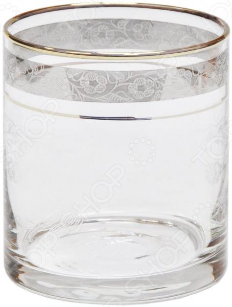Набор стаканов для виски Гусь Хрустальный «Гео. Нежность» набор бокалов для бренди гусь хрустальный нежность 410 мл 6 шт