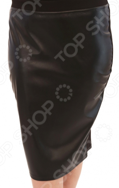 Юбка Лауме-Лайн «Модница». Цвет: черный