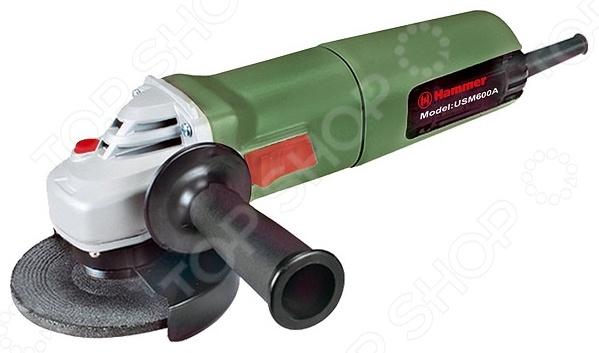 Машина шлифовальная угловая Hammer Flex USM600A