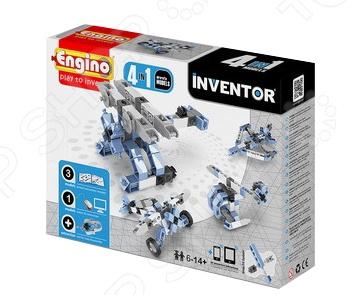 Конструктор игрушечный Engino Pico Builds / INVENTOR PB13 «Самолеты» конструкторы engino pico builds inventor мотоциклы 8 в 1
