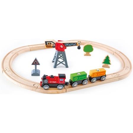 Купить Игровой набор Hape «Железнодорожный узел. Доставка грузов»