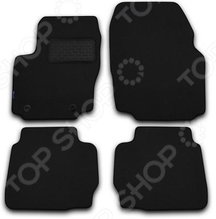 Cadillac CTS 2002-2007. Цвет: черный Комплект ковриков в салон автомобиля Novline-Autofamily Cadillac CTS 2002-2007 седан. Цвет: черный