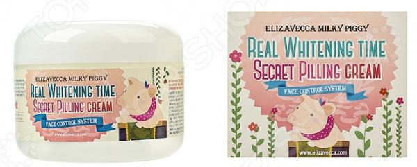 Крем-пилинг для лица Elizavecca Real Whitening Time пилинг крем для лица в аптеке
