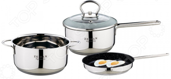 Набор посуды Zeidan Z-50402 набор посуды zeidan z 50620