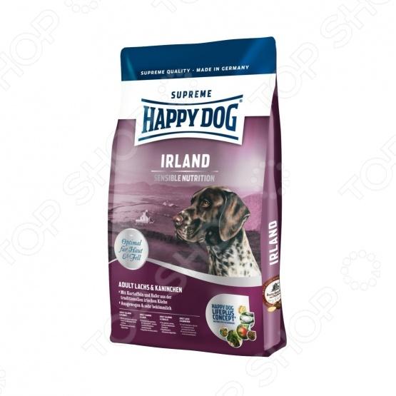 Корм сухой для собак Happy Dog Supreme Irland сухой корм happy dog supreme sensible adult 11kg neuseeland lamb