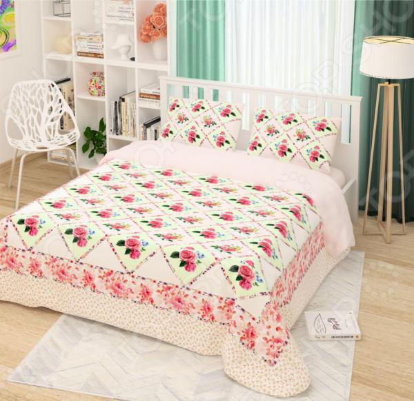 Комплект постельного белья Сирень «Розовый каприз»
