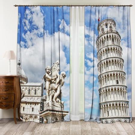 Купить Фотошторы ТамиТекс «Пизанская башня»