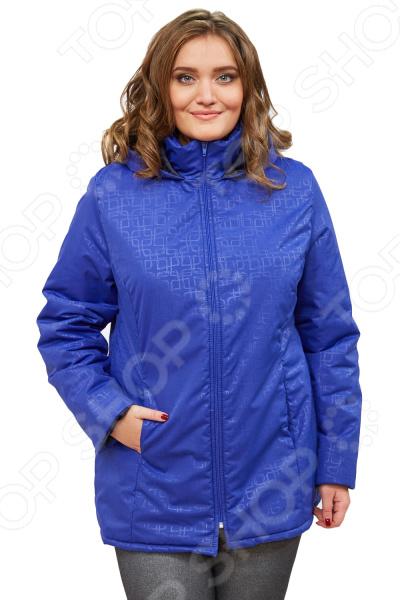 Куртка СВМ-ПРИНТ «Ласковое тепло». Цвет: васильковый