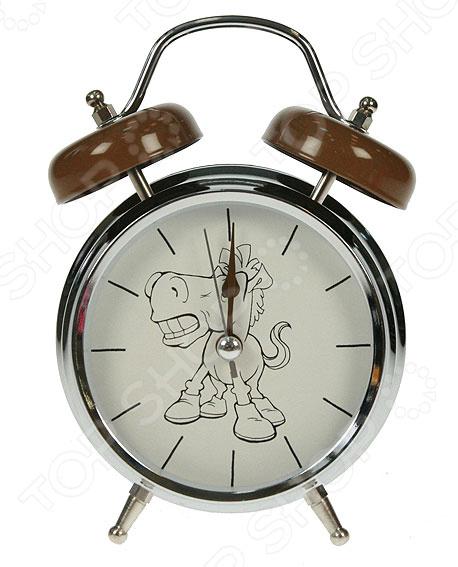 Часы-будильник «Лошадь»