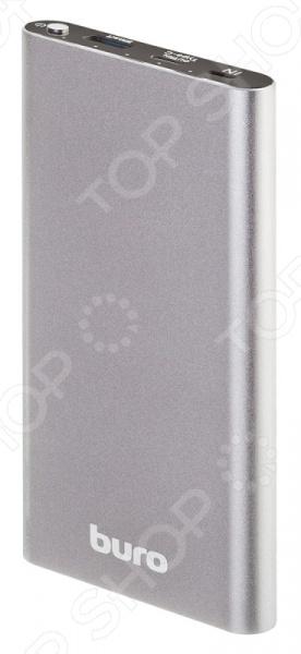 Аккумулятор внешний BURO RB-10000-QC3.0-I&O 2600mah power bank usb блок батарей 2 0 порты usb литий полимерный аккумулятор внешний аккумулятор для смартфонов светло зеленый