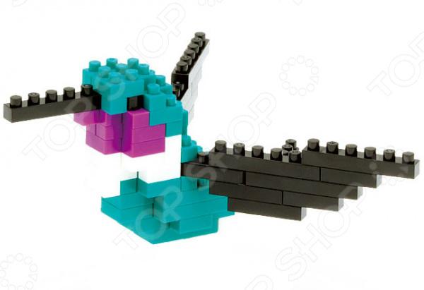 Мини-конструктор Nanoblock NBC_078 «Колибри» мини конструктор nanoblock лошадь