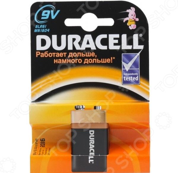 Батарейка Duracell 6LR61-1BL/6LF22 9V