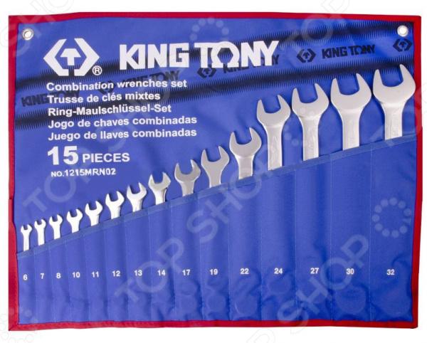 Набор ключей комбинированных King Tony KT-1215MRN02